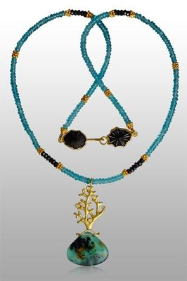necklace-gold-peruvian-opal-coral-opihi-diamonds